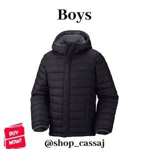 Boys Columbia Powder Lite Puffer Jacket